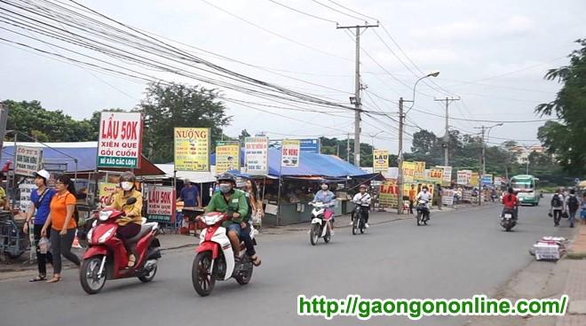 Địa điểm bán gạo cần đông cư dân
