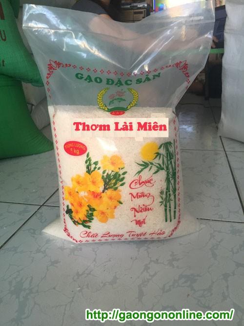 Gạo thơm lài miên lài campuchia 5-10 kg