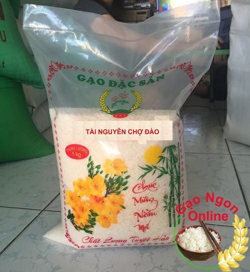 Gạo Tài Nguyên Chợ Đào tại GaoNgonOnline có giá là 16.000 đồng/ký
