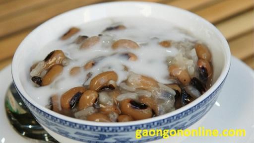 cách làm chè đậu trắng cốt dừa