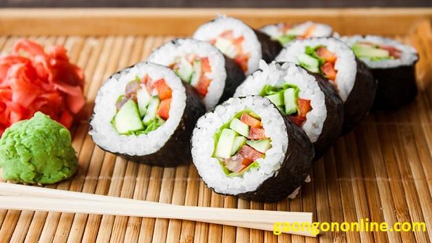 cach lam sushi don gian