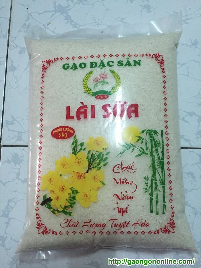 Gạo lài sữa dang túi 5kg quà tặng ý nghĩa cho bạn bè và người thân