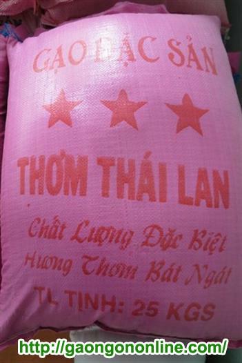 Gạo Thơm Thai Lan Chính Gốc