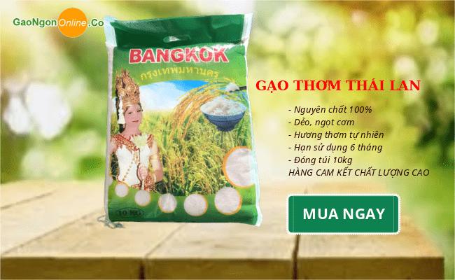 Gạo thơm thái nhập khẩu túi 10kg - Gạo Ngon Online