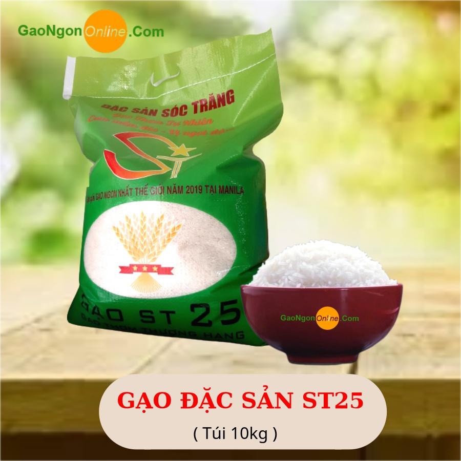 Gạo đặc sản sóc trăng - Gạo st25