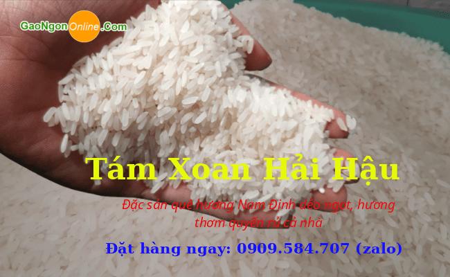 Gạo Tám Xoan Hải Hậu Nam Định Xịn