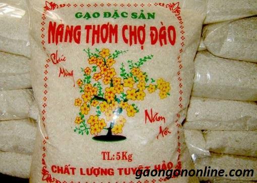 Giá gạo Nàng Thơm Chợ Đào