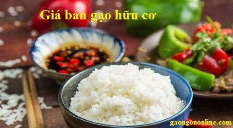 Giá bán gạo hữu cơ