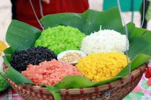 cách nấu gạo nếp thái lan
