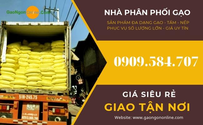 Nhà phân phối gạo - tấm - nếp các loại phục vụ sản xuất bột, bún, bánh, nấu rượu toàn quốc