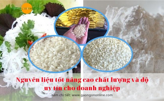 Cung cấp Tấm và Gạo làm Bột, Bún, Bánh chất lượng giao hàng toàn quốc